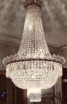 Restauración completa de lámpara imperio de techo